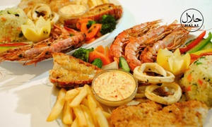 Atlantic Express Train Restaurant: Seafood Platter or Mixed Grill from R199 for Two at Atlantic Express Train Restaurant (Up to 54% Off)