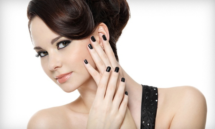 Crisp Salon - Irving: Makeover Package for One or Two with Hairstyle, Nail Services, and Makeup Application or Waxing at Crisp Salon in Irving (Up to 61% Off)