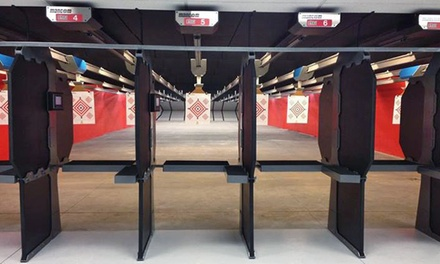 Range Package or Membership at Point Blank Range & Gun Shop (Up to 59% Off). Five Options Available.