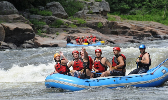 Propulsion - Grenville-sur-la-rouge: C$89 Rafting Excursion and Night of Camping from Propulsion (C$139 Value)