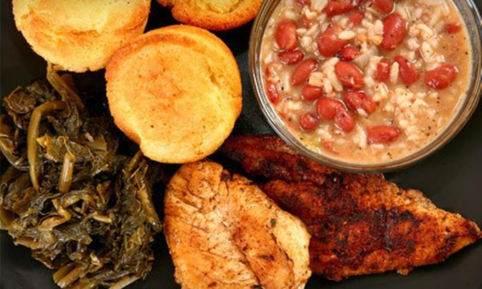 Cajun King - Norman: Cajun Buffet Food at Cajun King (Half Off). Two Options Available.