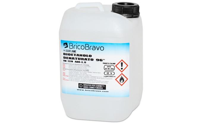 Bioetanolo groupon goods for Biocamino brico bravo