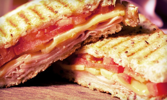CC Carvers - Southington: Paninis, Sandwiches, and Smoothies at CC Carvers (Half Off). Two Options Available.
