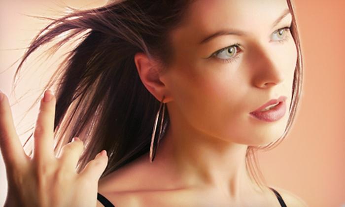 Studio di Estetica - Media: Haircut with Optional Full or Partial Highlights at Studio di Estetica in Media (Up to 66% Off)