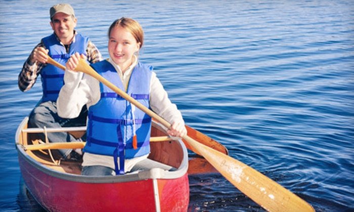 Think Outside Adventure Company - Saskatoon: Two-Hour Kayak or Canoe Lesson and Tour for Two or Four from Think Outside Adventure Company (51% Off)