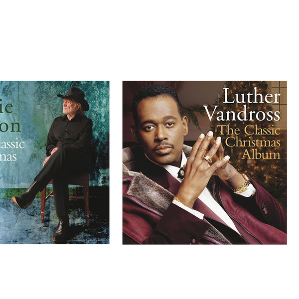 Luther Vandross Christmas Album.The Classic Christmas Album Series Elvis Martina Mcbride Willie Nelson Perry Como Luther Vandross Or Andy Williams