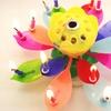 Magic Musical Happy Birthday Flower Candles