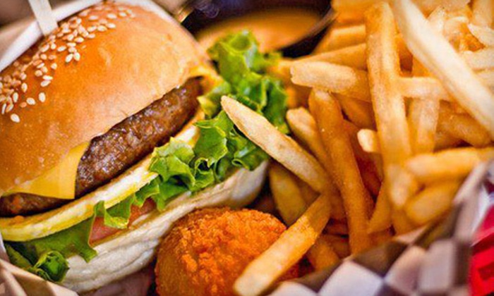 Bun Bun - Arcadia: Taiwanese Burger Meal for Two or Four at Bun Bun (Up to 53% Off)