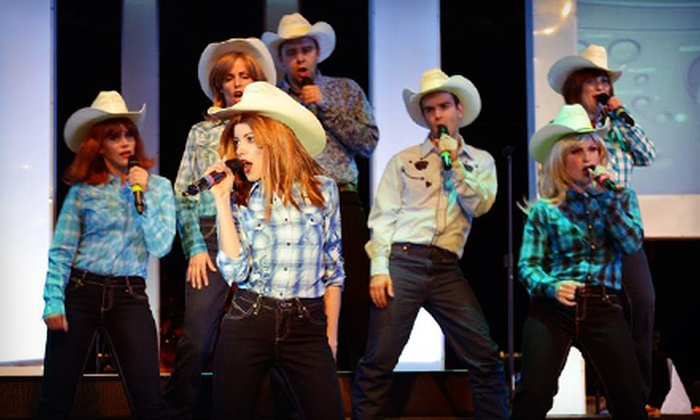 """Stage West Theatre Restaurant - Stage West Theatre Restaurant: $55 for """"Uptown Country Girls"""" at Stage West Theatre Restaurant (Up to $99.75 Value). Three Dates Available."""