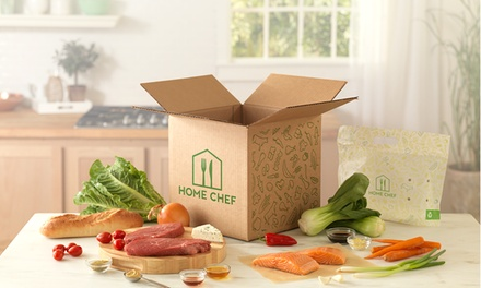 One or Two Weeks of Meal Kit Deliveries from Home Chef (Up to 37% Off)