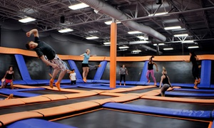 Up to 42% Off Jump Passes or Party at Sky Zone - Lexington at Sky Zone, plus 6.0% Cash Back from Ebates.