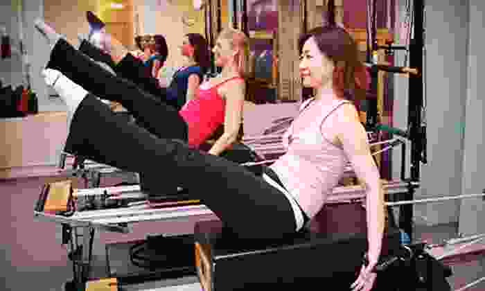 Pilates on Fifth-Ultimate Pilates Workouts: Online Classes from Pilates on Fifth-Ultimate Pilates Workouts (Up to 70% Off). Three Options Available.