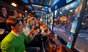 The Ride: $49 for Interactive Limo Bus Tour from The Ride ($74 Value)