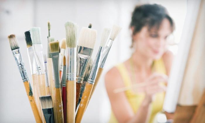 Bee Creative Studio - Sunset Hills: Two-Hour Art Class for Two or Four at Bee Creative Studio (Up to 55% Off)