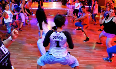 One Month of Zumba Classes or 10 or 20 Classes at Zumba Latin Fitness Ztudio (Up to 61% Off)