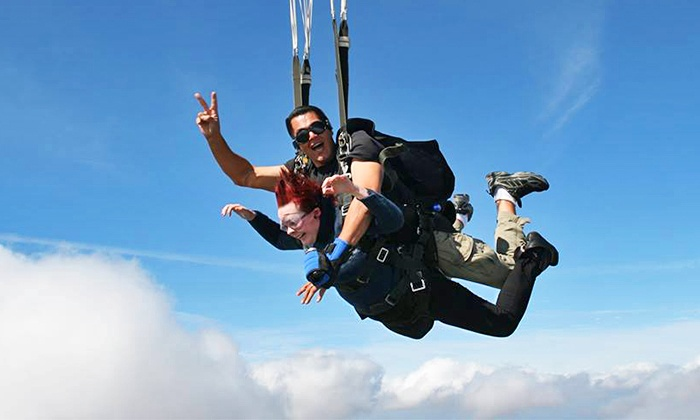 No Limits Skydiving - Multiple Locations: $209 for a Tandem Skydive with Video at No Limits Skydiving ($295 Value)
