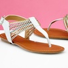Carrini Women's Thong Sandals