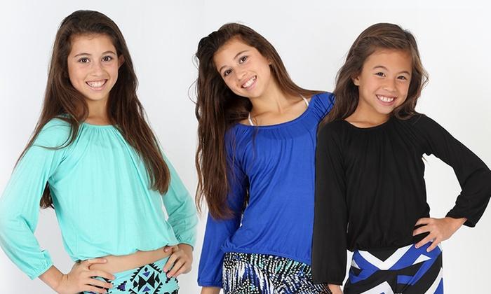 Lori & Jane Girls' Long-Sleeved Tops : Lori & Jane Girls' Long-Sleeved Tops. Multiple Styles Available. Free Returns.