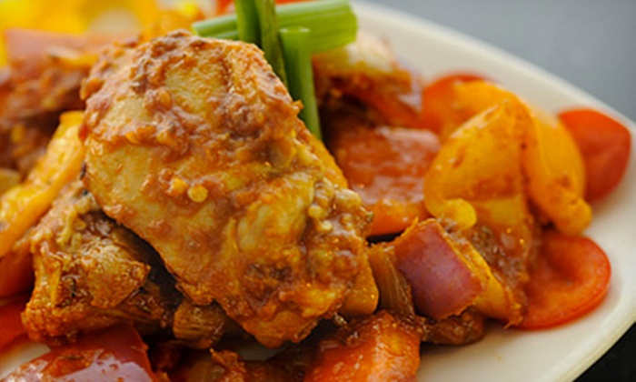 Tantric India Bistro - Downtown: Indian Cuisine at Tantric India Bistro (Half Off). Four Options Available.