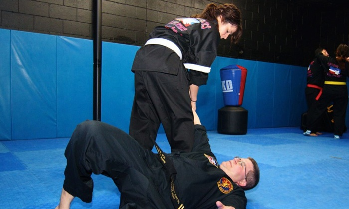 Lightning Kicks Martial Arts - Edison: Fight-Fit Classes at Lightning Kicks Martial Arts (Up to 54% Off)