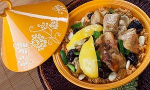 DARINA: 2 couscous ou tagine au choix parmi une sélection et thé à la menthe pour 2 personnes dès 19,90 € au restaurant Darina