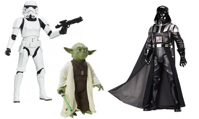 Groupon Goods Global GmbH: Figurines collector articulées et électroniques Star Wars 50, 80 et 120 cm