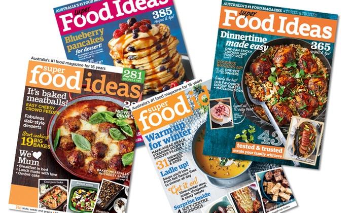 Super Food Ideas Mag 1 Year Sub