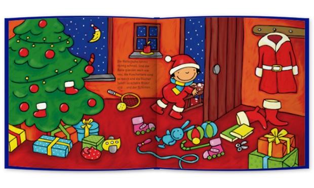 personalisierbares buch mit einer weihnachtsgeschichte f r. Black Bedroom Furniture Sets. Home Design Ideas