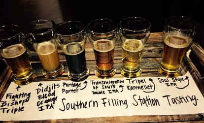 Up to 58% Off Beer tasting  at Southern Filling Station