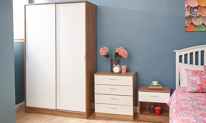 Geneva Gloss Bedroom Furniture | Groupon