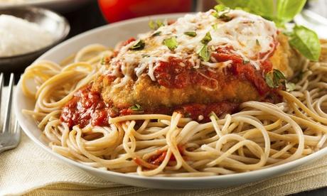 Italian Cuisine at Rocco's Plum Tomato Trattoria (50% Off). Two Options Availabl...