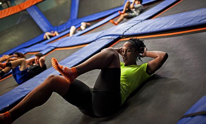 Sky Zone - Roswell: $39 for 10 SkyFitness Classes at Sky Zone in Roswell ($75 Value)