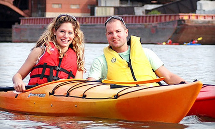 Kayak Chicago Chicago - Goose Island: Two-Hour Weekend Rental of a One- or Two-Person Kayak from Kayak Chicago (Half Off)