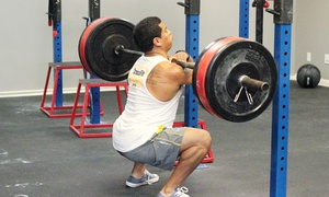 A4 Fitness: One-Month of CrossFit or Two Private CrossFit Classes at A4 Fitness (Up to 84% Off)