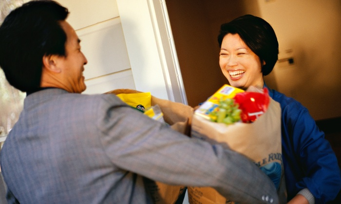 The Grocery Shuttle Network - Kansas City: Grocery Delivery from The Grocery Shuttle Network (Up to 49% Off). Two Options Available.