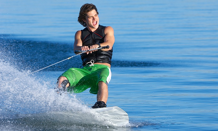 Seawake - Dubai: Wakeboarding with Instructor for up to 2 people starting from AED 239