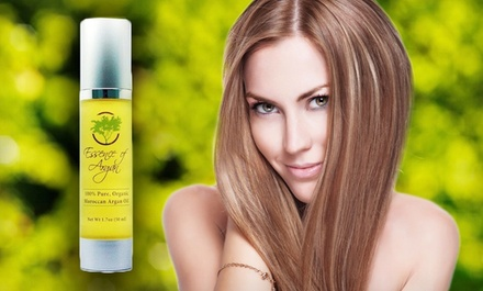 50 ml of Essence of Argan Pure Organic Moroccan Argan Oil.