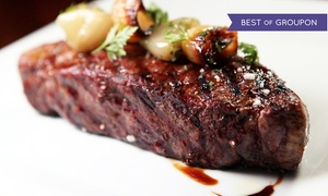 Café la Cave: Steak and Seafood at Café la Cave (Up to 50% Off). Two Options Available.