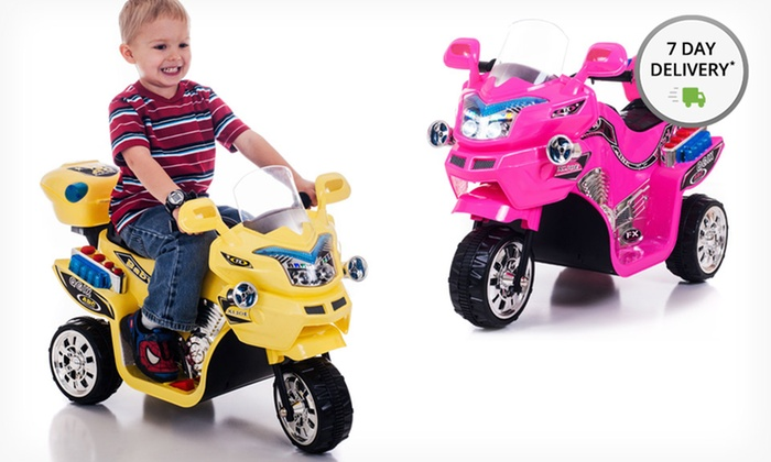 Lil' Rider FX Battery-Powered Three-Wheel Bike: Lil' Rider FX Battery-Powered Three-Wheel Bike. Multiple Colors Available. Free Shipping and Returns.
