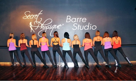 $45 for Five Barre Fitness Classes at Secret Physique Studio ($80 Value)