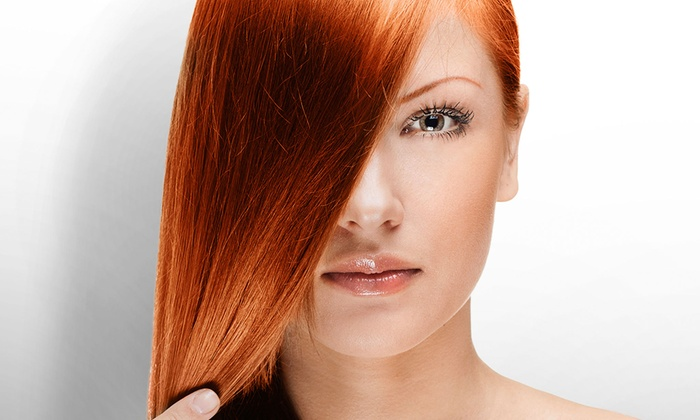 Universal Hair Studio - Land O' Lakes: One or Two Global Keratin Brazilian Straightening Treatments at Universal Hair Studio (Up to 74% Off)