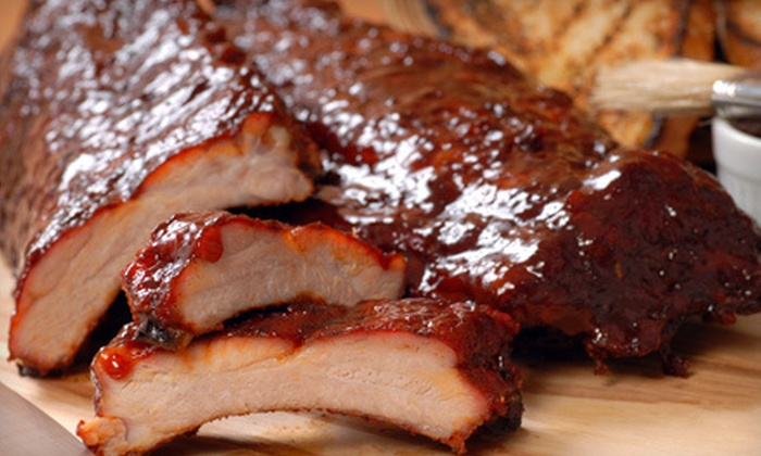 Texas Best Smokehouse - Chambers Meadow: Barbecue and Drinks at Texas Best Smokehouse in Italy (Half Off). Two Options Available.