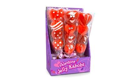 Valentine Jelly Kabobs (12-Pack)