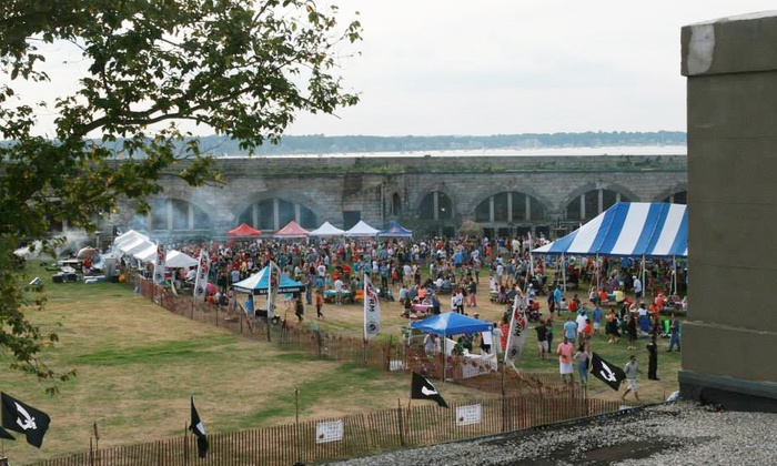 Coastal Extreme Brewing - Fort Adams State Park: $15 for Two Tickets to Newport Storm Luau from Coastal Extreme Brewing on August 16 (Up to $40 Value)
