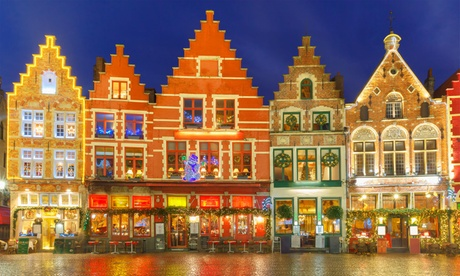 Bruges: One-Day Christmas Market Coach Trip with Return Cross Channel Ferry Crossing from Bruges 1-Day Christmas Market