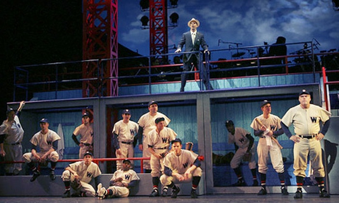"""""""Damn Yankees"""" - River Bluffs: One Ticket to See """"Damn Yankees"""" at the Rialto Square Theatre in Joliet on April 3 at 8 p.m. (Up to $44 Value)"""