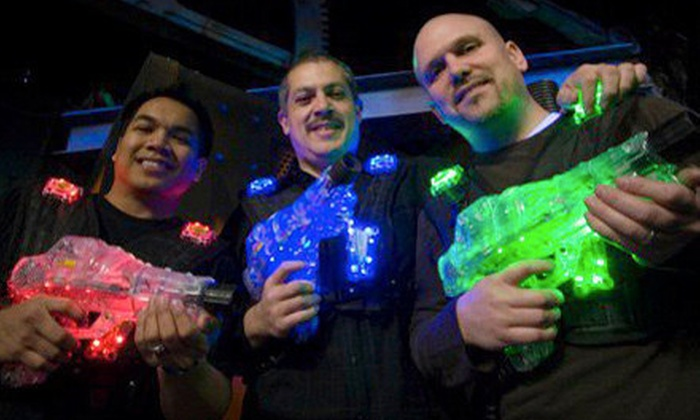 Extreme Laser Tag - Colonial Heights: Two Three-Game or All-Day Passes at Extreme Laser Tag (52% Off)