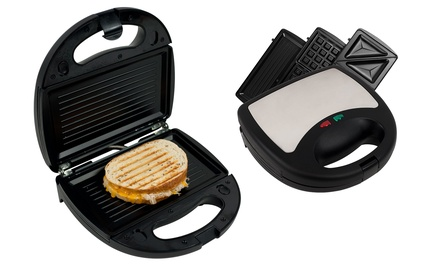 3-in-1 Sandwich, Panini, and Waffle Press