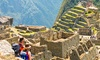 Peru Tour with Hotels and Air from Gate 1 Travel - Machu Picchu: ✈ 7-Day Tour of Peru with Air from Gate 1 Travel. Price per Person Based on Double Occupancy (Buy 1 Voucher/Person).