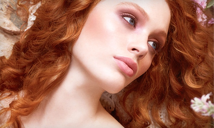 Eco Beauty Salon Spa - Fairmount Park: One, Three, or Five Blowouts with Add-On Hair or Makeup Treatment at Eco Beauty Salon Spa (Up to 75% Off)